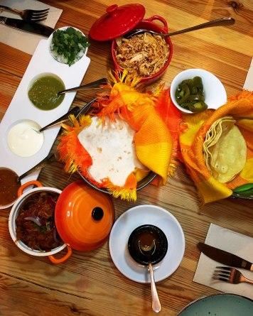 Tacos Cochinita Pibil Tinga de Pollo No Q No Gastrobar Barajas